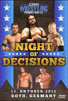 GWP Night Of Decisions 2012 DVD