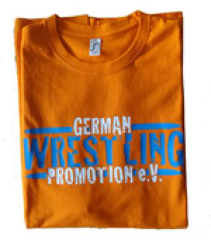 GWP T-Shirt German Wrestling Promotion orange