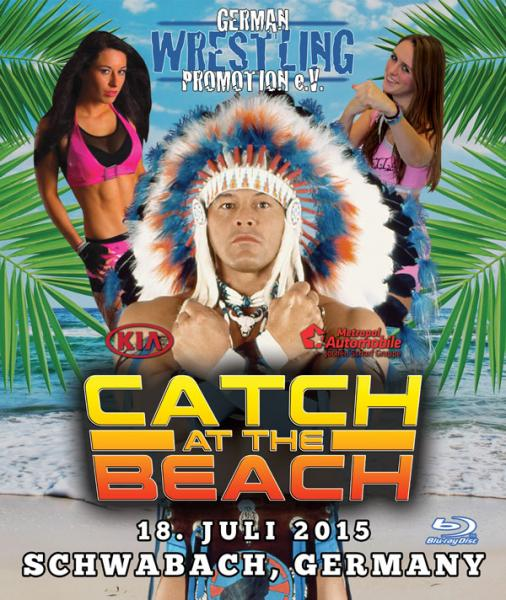 GWP Catch At The Beach 2015 Blu-ray