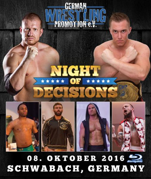 GWP Night Of Decisions 2016 Blu-ray