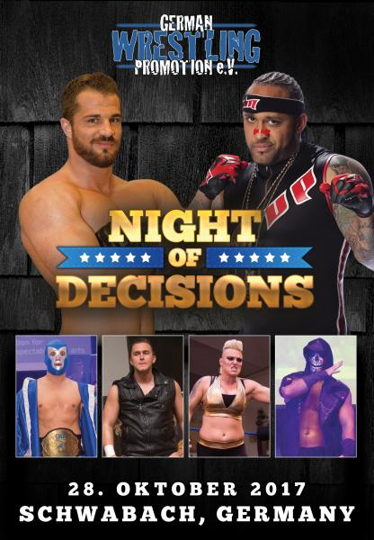 GWP Night Of Decisions 2017 DVD