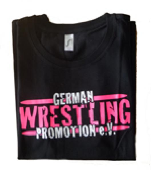 GWP Lady-Shirt German Wrestling Promotion (Pink)
