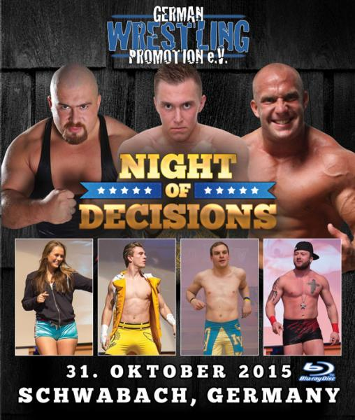 GWP Night Of Decisions 2015 Blu-ray