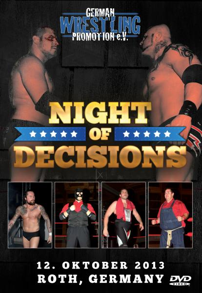 GWP Night Of Decisions 2013 Blu-ray